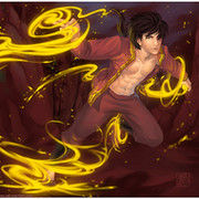 ZUKO Prince of fire on My World.